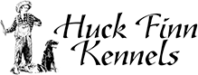 Family Operated Boarding Kennel For All Dog Breeds – Huck Finn Kennels, Located in Kennewick – Tri-Cities Washington Logo